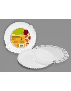 Camino de mesa crema